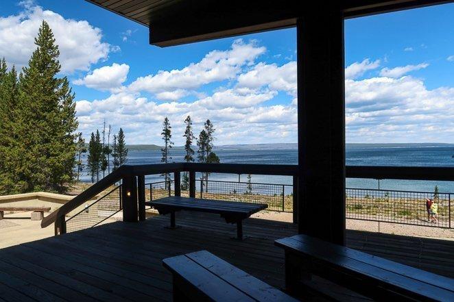 Grant Visitor Center - Yellowstone Lake