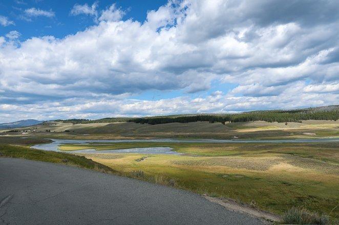Hayden Valley Yellowstone NP