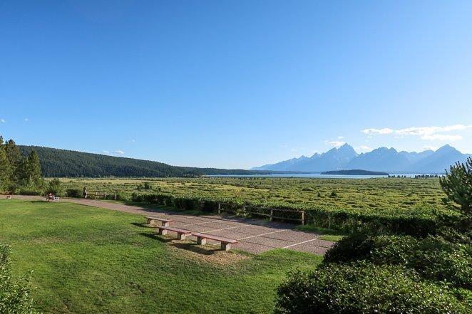 Jackson Lake Lodge View