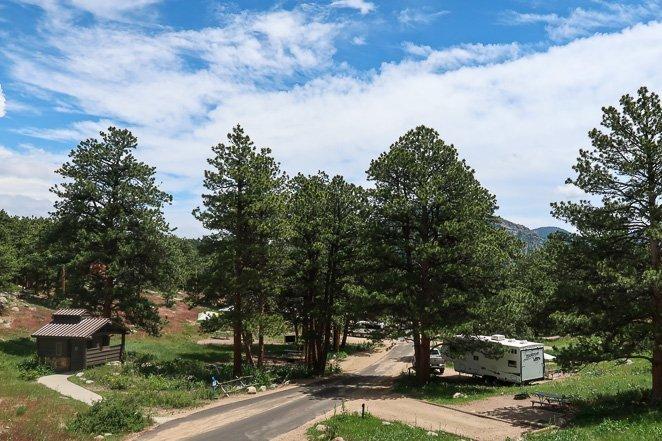 Morain Campground