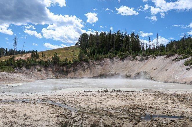 Mud Coldrox - Mud Volcano Yellowstone