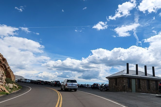 Pay The Rocky Mountain national park entrance fee and take a Scenic Drive