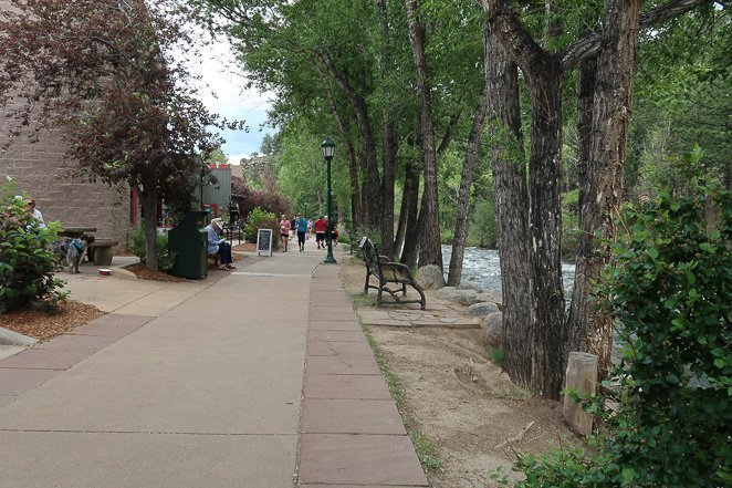 Walk the River Walk in Estes Park