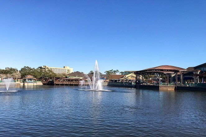 What to do in Downtown Disney - View the Water