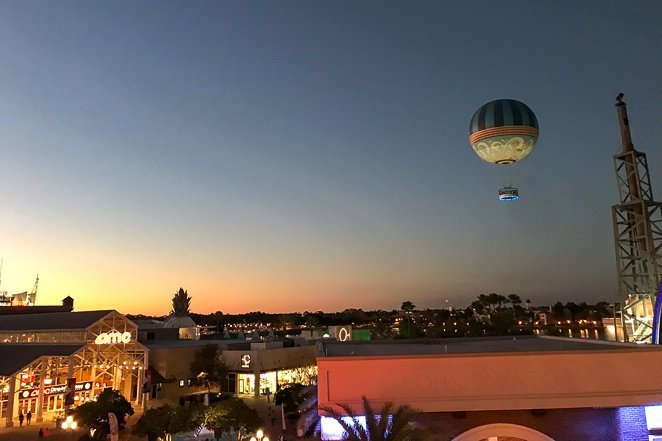 Evening events at Disney Springs