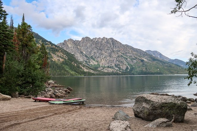 Go Paddle Boarding in Grand Tetons National Park