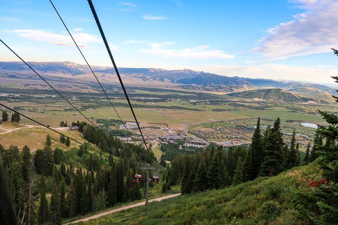 Jackson Hole Gondola Ride