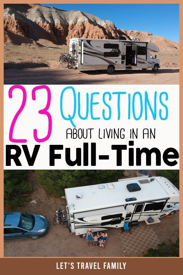 Living In An RV Full Time