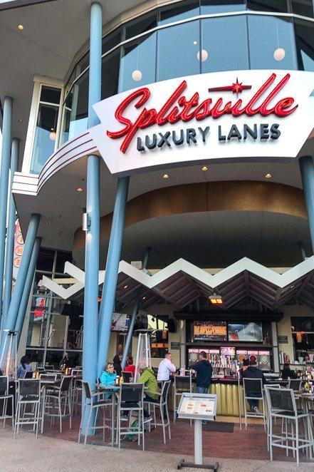 Splitsville Luxury Lanes Disney Springs
