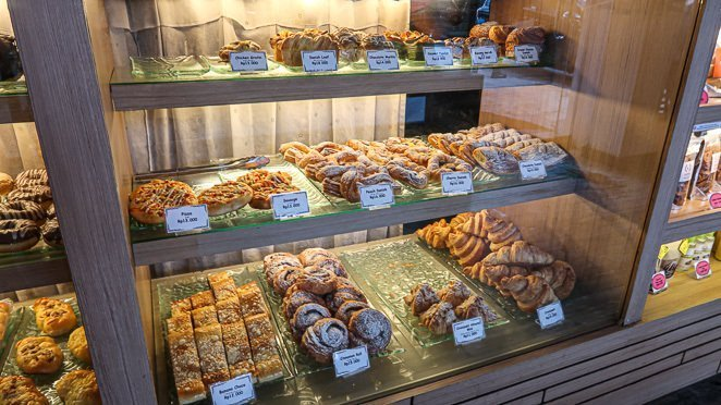 Baked goods at Kakiang Bakery