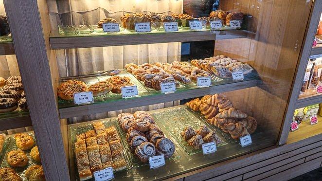 Baked goods at Kakiang Bakery