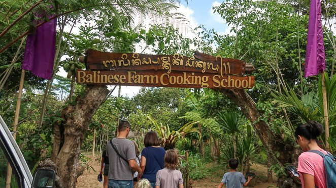 Balinese Farm Cooking School -  what to do in Ubud