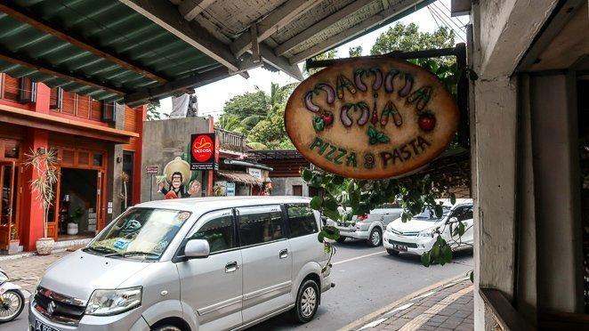 Mama Mia Pizza Ubud Bali