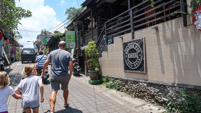 Best places to eat in Ubud -Melting Wok Warung Ubud Bali
