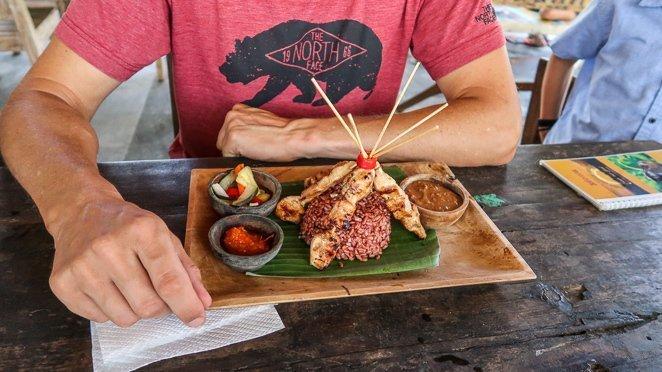 Sweet Orange Warung, Ubud Bali Food
