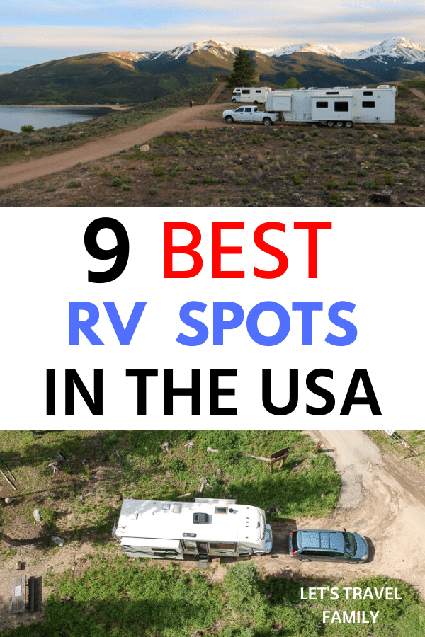 Best RV Campsites in The USA
