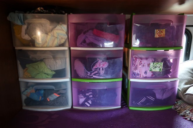 RV Closet Organizer Ideas