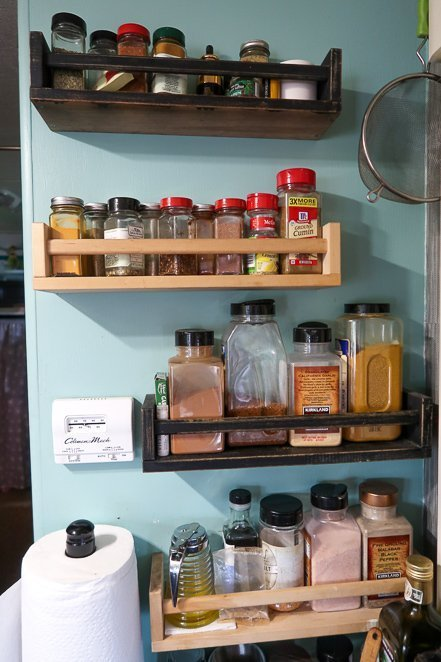 RV Kitchen Spice Rack