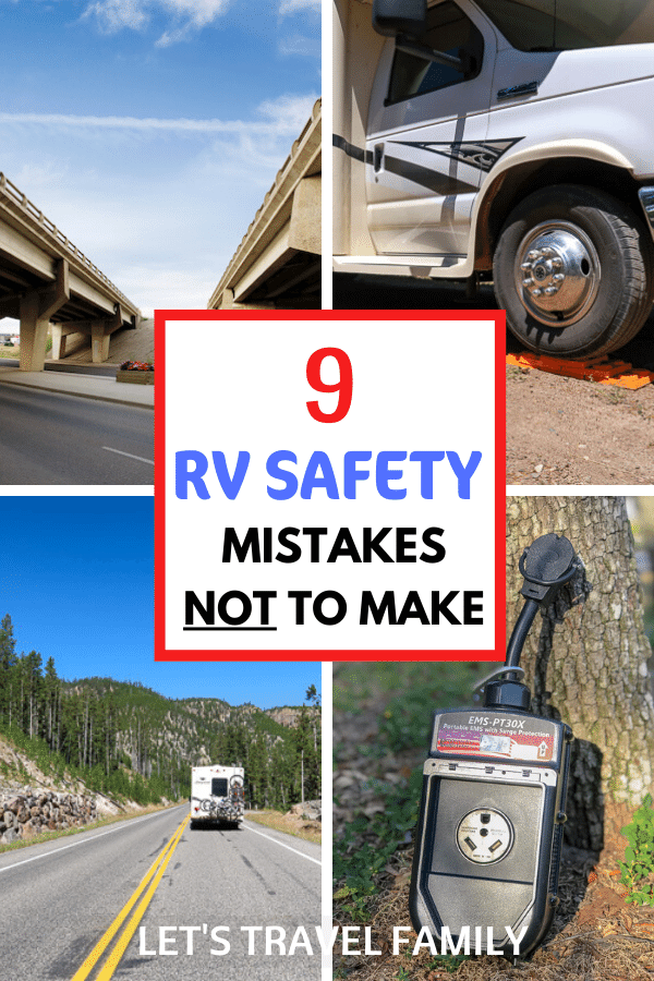 Safety in an RV