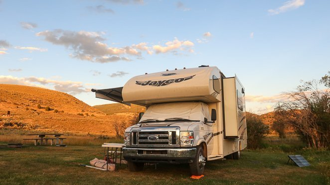 Awning Left Out -  Safety in RVs