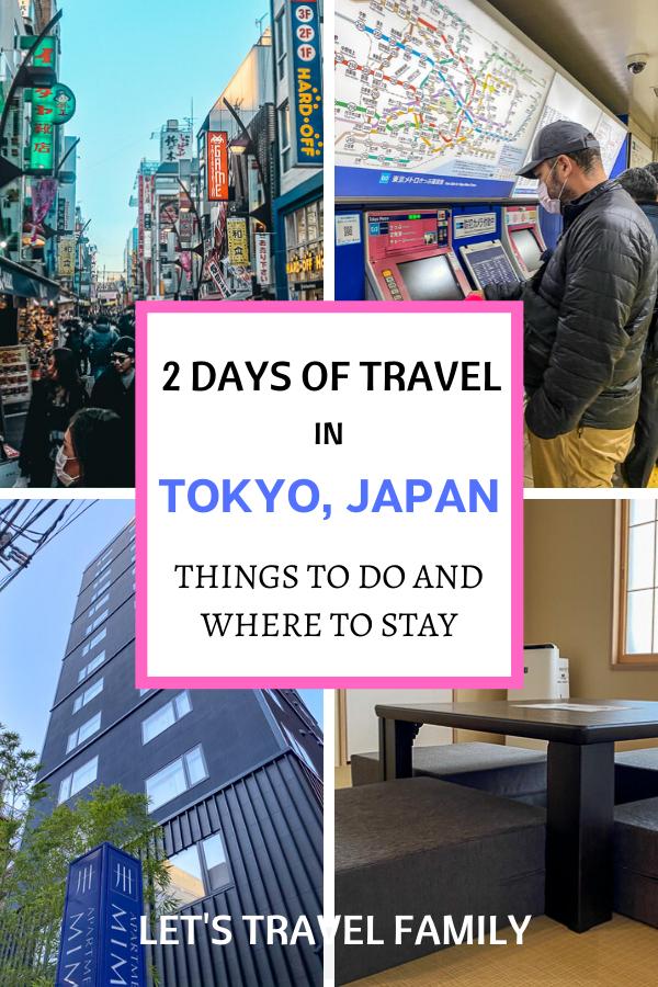2 Days In Tokyo Japan