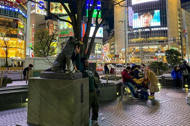 Memorial Statue Of Hachiko