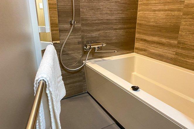 Large Bathtub in a Hotel