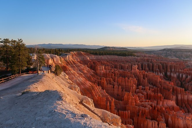Sunset Point Bryce Canyon with kids
