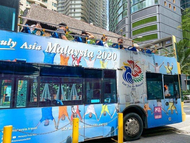 Take a tour on a bus