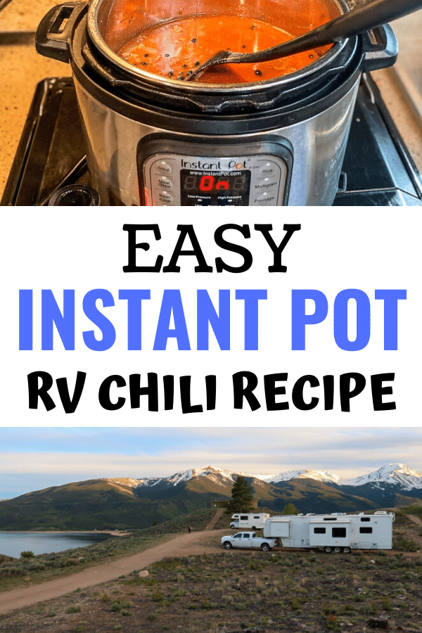 Chili Recipe RV