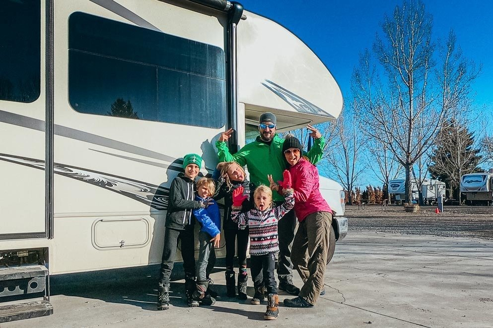 Let's Travel Family RV Family