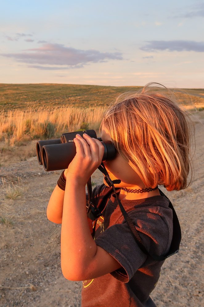 camping gift ideas  binoculars