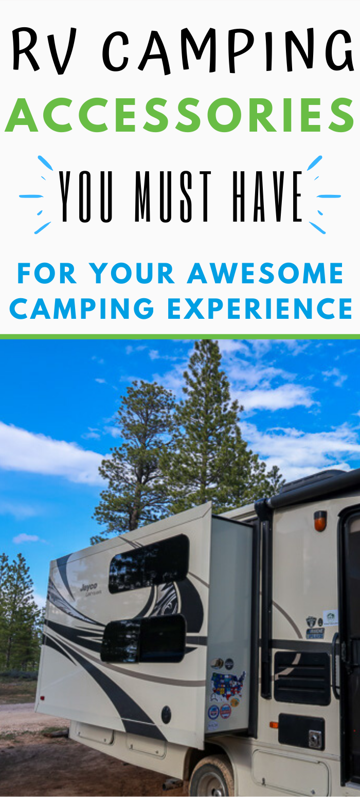 RV Camping Must Haves. 750x1550