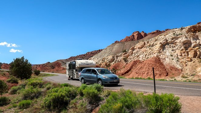 Road Trip through Capitol Reef Utah