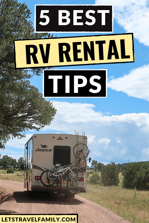 Best RV Rental Tips