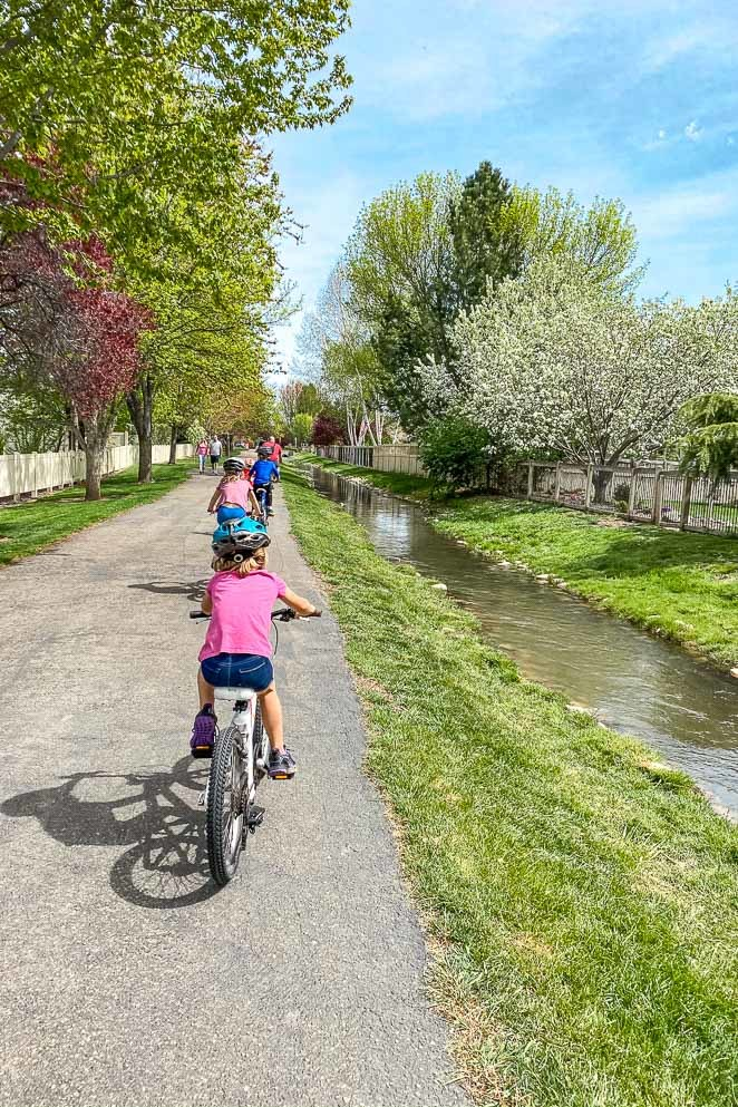 Bike with your family