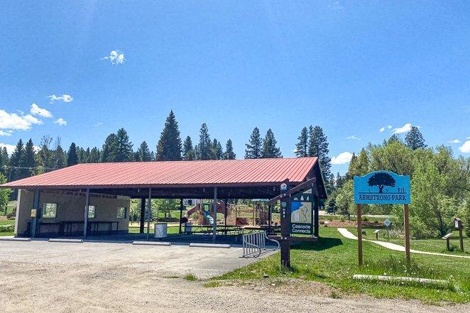 Armstrong Park Playground in Cascade Idaho
