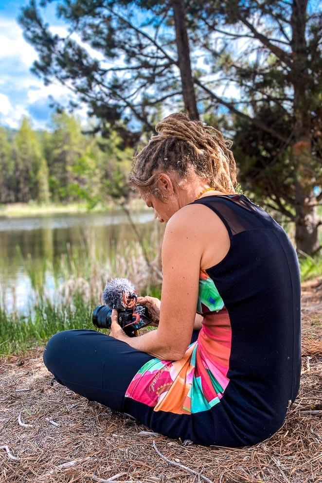 Take Photos While Camping