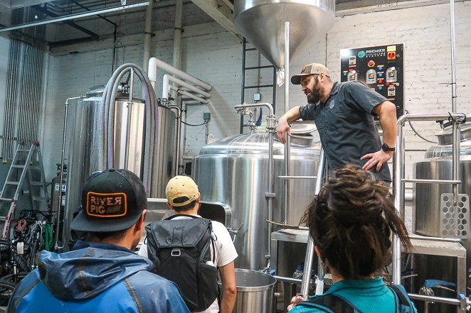 Uber Brew - Get a tour of the brewery