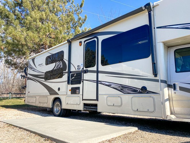 Types of RV camping cost