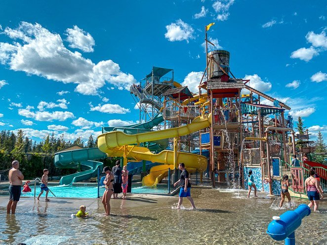 Boulder Beach at Silverwood Theme Park in Idaho