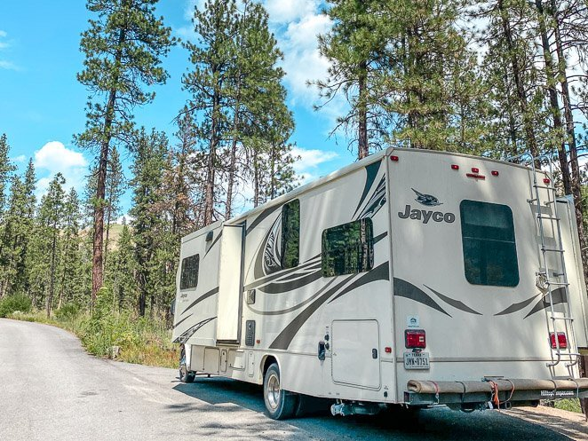 Camping at Pine Flats Campground