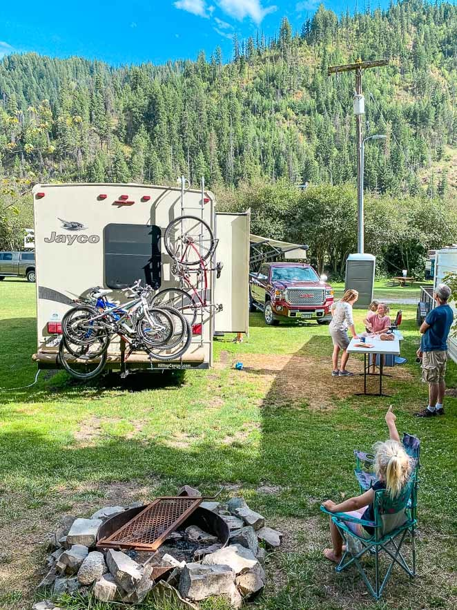 Camping in Coeur d'Alene