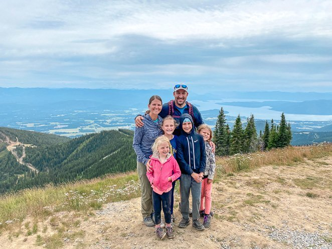 Hike To The Top Of Schweitzer Mountain Resort