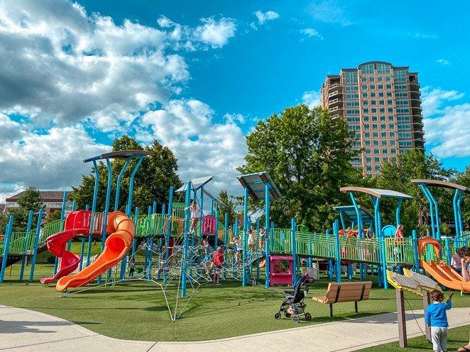 McEuen Playground in Coeur d'Alene