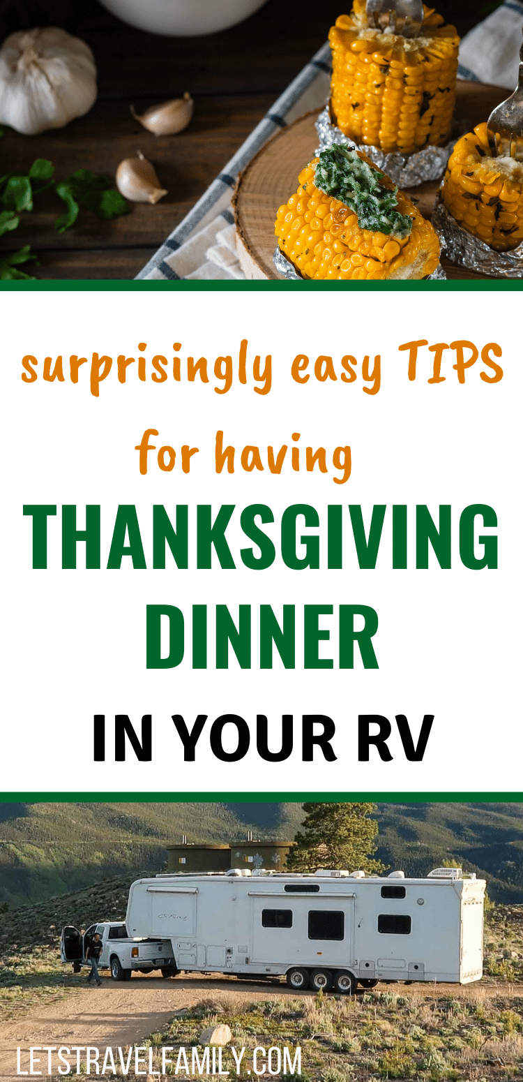 Thanksgiving Dinner in your RV