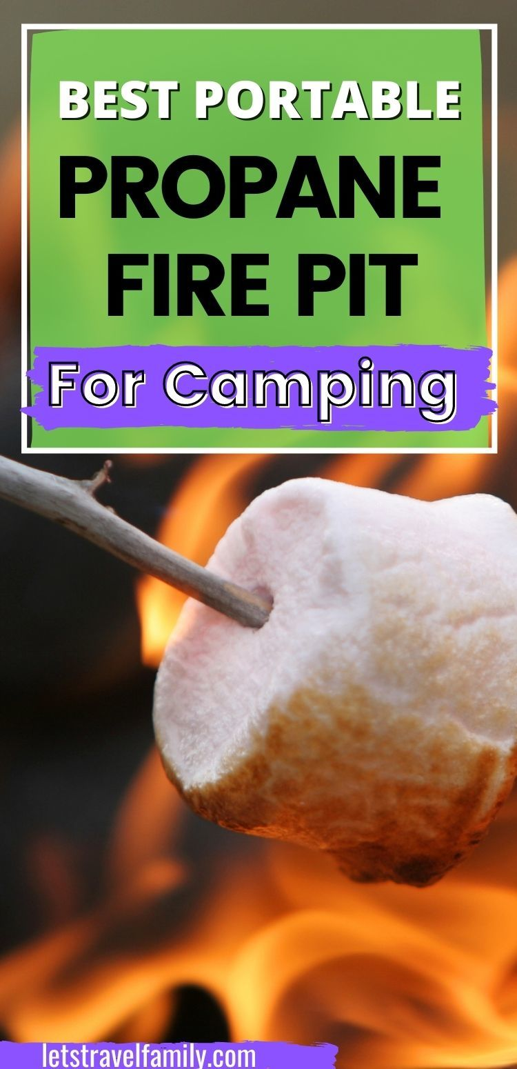 Best Portable Propane Fire Pit for Camping