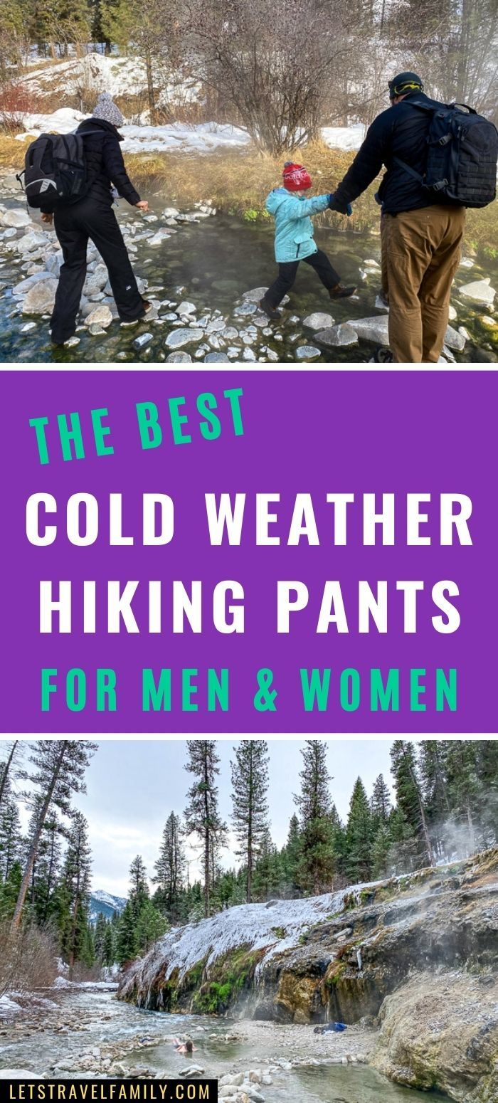 Best Cold Weather Hiking Pants for Men and Women