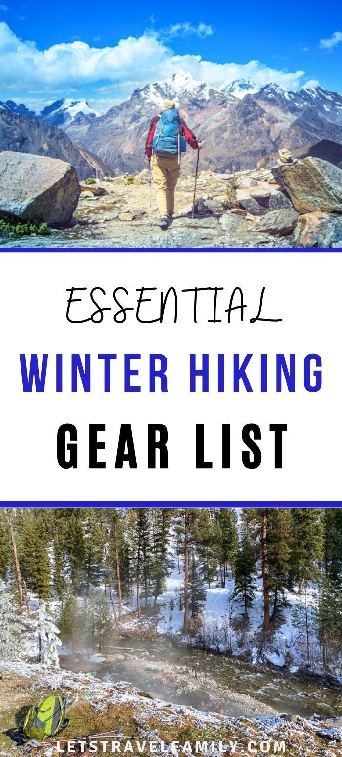 Best Winter Hiking Gear List