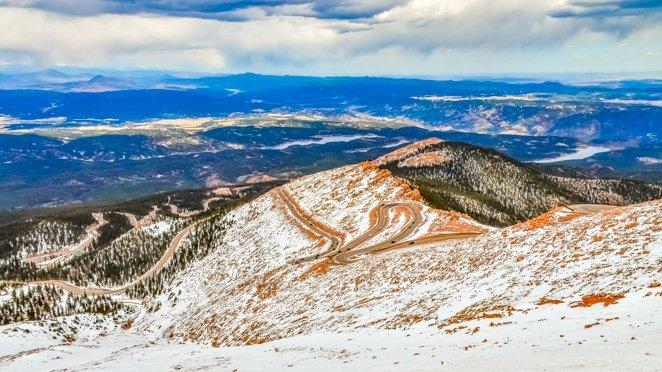 CO road trip views - Pikes Peak Colorado